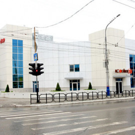 Даир - Остекление фасада здания
